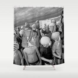 Futur: Die Kinder und das Wasser Shower Curtain