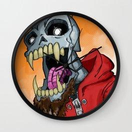 Jackhook Metal Skeleton Wall Clock