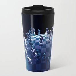 the whole world is in chess Travel Mug