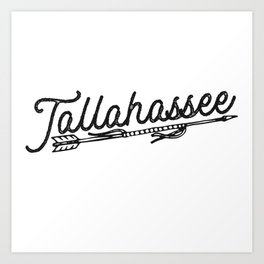Tallahassee Art Print