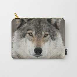 Winter Wolf Carry-All Pouch