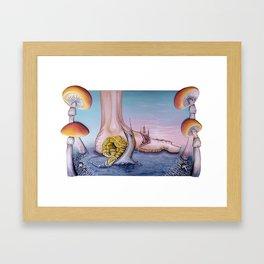 """Irrigational Erosion"" Framed Art Print"