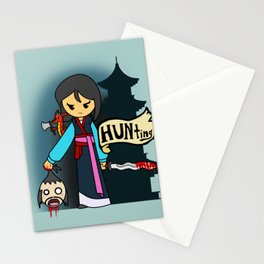 A HUNting the BAMF saviour of China we will go Stationery Cards