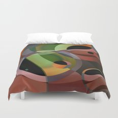 Warm Wind Waning Duvet Cover