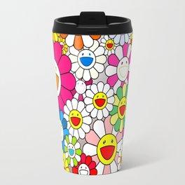 Takashi Murakami - Flowers Travel Mug