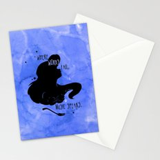 Where Words Fail, Music Speaks Stationery Cards