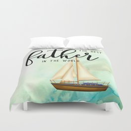 Best father #7 | Father's day Duvet Cover