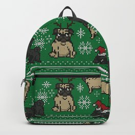 CHRISTMAS PUG Backpack
