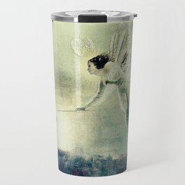 Spirit of the Night by john Atkinson Grimshaw Travel Mug