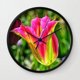 Beautiful Tulip Wall Clock