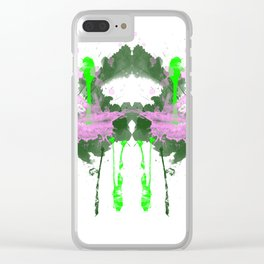 Personality Test: Green Blot Clear iPhone Case