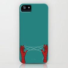spidey hand trick iPhone (5, 5s) Slim Case
