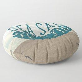 SEA SALT FLAVOUR Floor Pillow