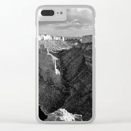 The Devil's Canyon Clear iPhone Case