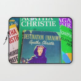 Destination Unknown - Vintage Agatha Christie Laptop Sleeve