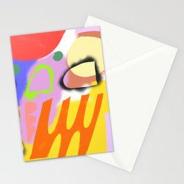 Abstrakte Formen 004 / Abstract Graffiti Composition of Stationery Cards