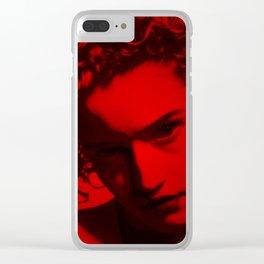 Julia Garner - Celebrity (Photographic Art) Clear iPhone Case