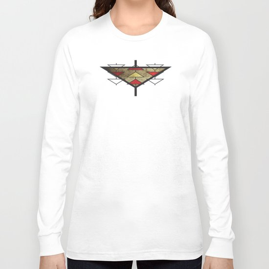 Navajo Arrows Long Sleeve T-shirt