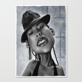 Miss Keys Canvas Print