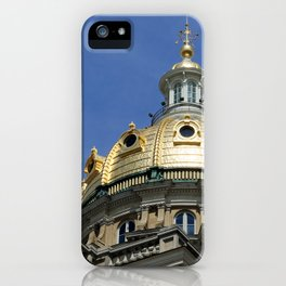Iowa State Capitol Dome - Photography iPhone Case