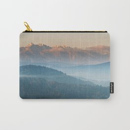 The mountains are calling #sunset Carry-All Pouch