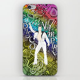DISCO VAMPIRE HALLOWEEN OUTFIT iPhone Skin