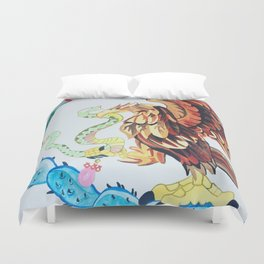 The Wings of Mexico Duvet Cover