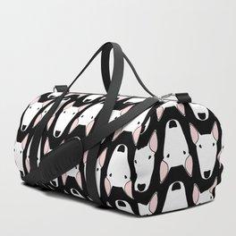 Black Gridlock Duffle Duffle Bag