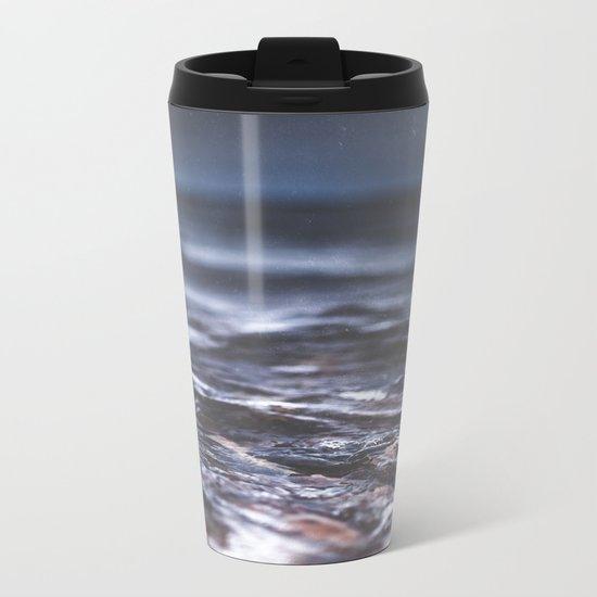 Darkness never wins Metal Travel Mug