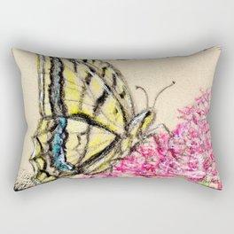 Collette's butterfly Rectangular Pillow