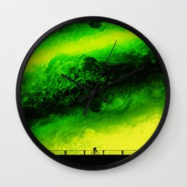 Wildfire Fixie  Wall Clock