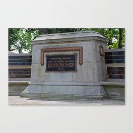 Commodores' Memorial I Canvas Print