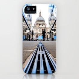 London City Blue iPhone Case