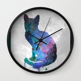 Galaxy Series (Cat) Wall Clock