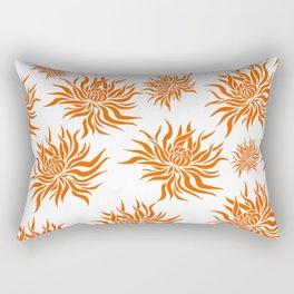Chrysanthemums Rectangular Pillow