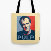 pulp Tote Bags featuring Pulp! by LilloKaRillo