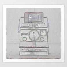 Shake It Like A Polaroid Picture Redux Art Print