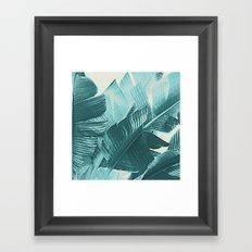 Banana Palm Framed Art Print
