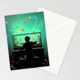 Le Pianoquarium Stationery Cards