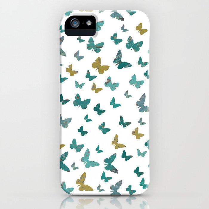 butterflies_yellow iPhone Case