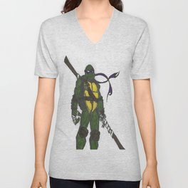Ninja Turtles Donatello Unisex V-Neck