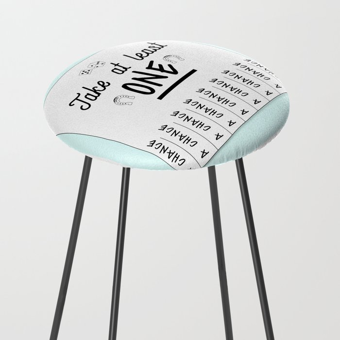 Take A Chance Counter Stool By Jmkstock Society6