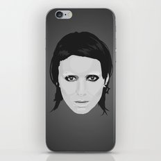 Lisbeth and Mikael / The Girl with the Dragon Tattoo iPhone & iPod Skin