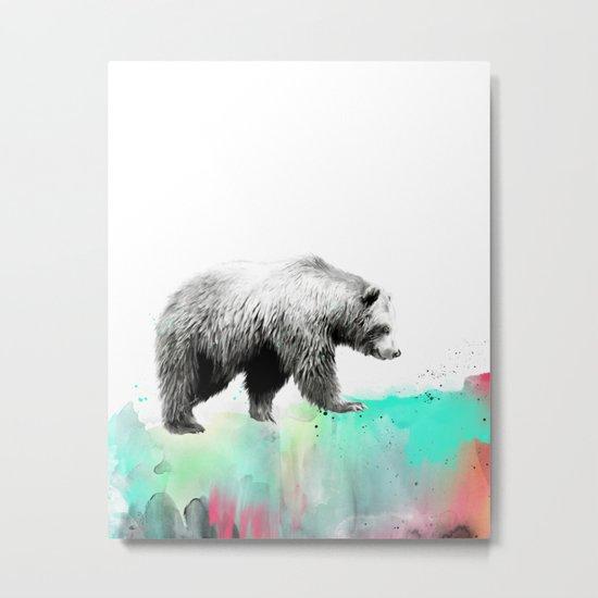 Wild No. 1 // Bear Metal Print