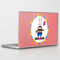 danny haas Laptop & iPad Skins featuring Let's Party - Danny by Ai-yoyo