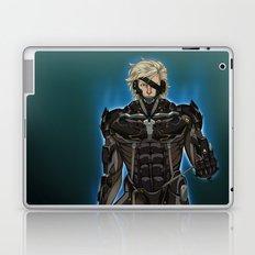 UNPLUG - Blue Laptop & iPad Skin