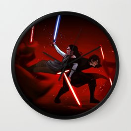 Fight Wall Clock
