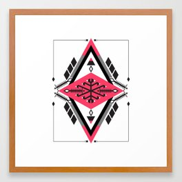 :::Space Rug2::: Framed Art Print
