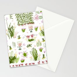 Back in the Garden Stationery Cards