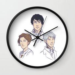 Herongraystairs Wall Clock